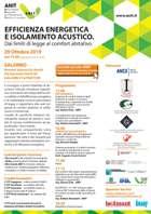 EFFICIENZA ENERGETICA E ISOLAMENTO ACUSTICO
